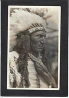 CPA Indiens Etats Unis Voir Scan Du Dos Sioux Carte Photo RPPC - Other Topics