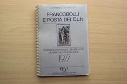 LIBRO CATALOGO PER COLLEZIONISTI FRANCOBOLLI E POSTA DEI C.L.N. CLN I  INTERESSANTE X STUDIO ANNULLI E STORIA POSTALE - Collections