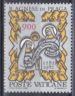 Vatikan Vatican 1982 Religion Christentum Persönlichkeiten Selige Agnes Von Böhmen Bessarione Heilige Klara, Mi. 804 ** - Vatikan