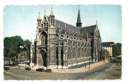 Belgio  Bruxelles Brussel Eglise N.D. Du Sablon Notre-Dame Du Sablon Viaggiata Anni 60 Condizioni Come Da Scansione - Monumenti, Edifici