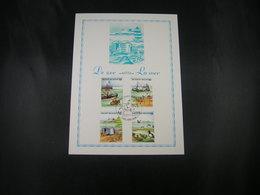 """BELG.1988 2273 2274 2275 2276 FDC Philacard :  """" De Zee/La Mer """" - FDC"""
