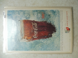 Affiche Publicitaire Coca Cola 25cm Sur16 ( Bouteille )   1959 Copyright / Reclamaffiche Cola - Advertising Posters