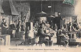 VILLEDIEU - Atelier De Chaudronnerie Mauviel-Gautier Frères - CPA - Villedieu