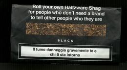 Busta Di Tabacco - Black Da 15g - Etichette