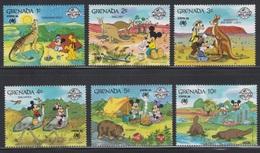GRENADA - DISNEY - MICKEY SIXTY YEARS - SYDPEX 88 - Disney