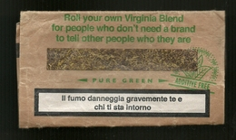 Busta Di Tabacco - Pure Green Da 20g - Etichette