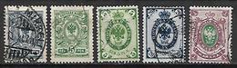 FINLANDE    -    1901 / 1911 .   L O T   -   Oblitérés - 1856-1917 Russian Government