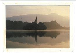 Slovenia Slovenija  Bled La Chiesa Di Samta Maria Del Lago Condizioni Come Da Scansione - Slovenia