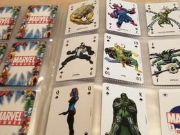Marvel Heroes Playing Cards Set Completo Carte Da Gioco +box - Marvel