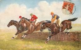 Sports - Hippisme - Hippodrome - Courses De Chevaux - Illustrateur - Raphaël Tuck - Postcard 9509 - 2 Scans - état - Horse Show