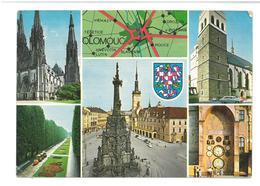 Repubblica Ceca Olomouc Viaggiata 1972 Condizioni Come Da Scansione - Repubblica Ceca