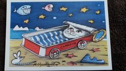 CPM A PART CHAT CHARDINE ED MILABERTO DESSIN LES CHATS DE MARK CHAUBARON - Gatti