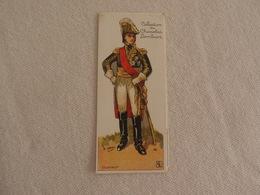 Chromo Découpi Chocolat Lombart Maréchal D'Empire Oudinot - Lombart
