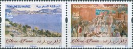 2019 - Joint  Issue -Emission Commune - Museum Masterpieces Of France And Morocco - Morocco (1956-...)