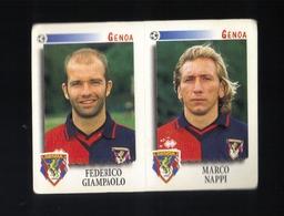Figurina Calciatori Italiani Panini 1997-1998 - Genoa  - N.481   - Football - Soccer - Socker - Fussball - Futbol - Panini