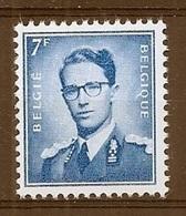 BELGIE Boudewijn Bril * Nr 1069B P3a * Postfris Xx * FLUOR  PAPIER - 1953-1972 Bril