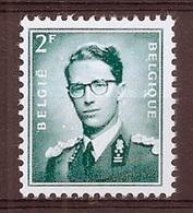 BELGIE Boudewijn Bril * Nr 1066 P3a * Postfris Xx * FLUOR  PAPIER - 1953-1972 Bril
