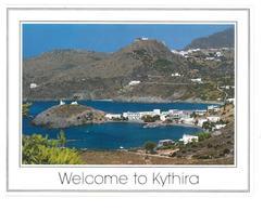 Grecia Hellas Greece Welcome To Kythira Kythira Kapsali Non Viaggiata Condizioni Come Da Scansione - Grecia