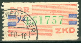 DDR ZKD 27Y O - [6] République Démocratique