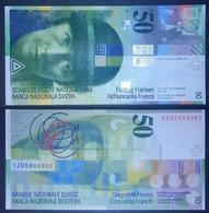 Svizzera Schweiz Switzerland / CHF Franc Francs Frank Franken - 2012 Edition UNC BANKNOTE - Switzerland