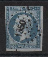 PC  1850  Lozère - Marcophilie (Timbres Détachés)