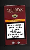 Tabacco Pacchetto Di Sigari Italia - Moods Da 2 Pezzi - Tobacco-Tabac-Tabak-Tabaco - Empty Cigar Cabinet
