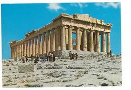 Grecia Hellas Greece Athens The Parthenon Non Viaggiata Condizioni Come Da Scansione - Grecia