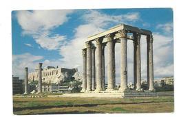 Grecia Hellas Greece Athens Temple Of Olympius Zeus Non Viaggiata Condizioni Come Da Scansione - Grecia