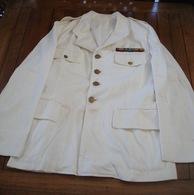 Veste Coloniale Blanche - Indo - Indochine.. - Uniforms