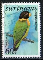 Surinam 1985 Perroquet Parrot  60c - Surinam