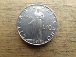 Vatican  10 Lire  1953  Km 52.1 - Vatikan