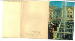 Russia Petrodvorets Peterhof 16 Cartoline Condizioni Come Da Scansione - Russia