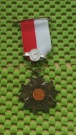Medaille / Medal - Medaille - Avondvierdaagse ( N.U.W ) 5 Maal + 6 - The Netherlands - Netherland