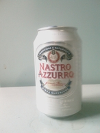 Lattina Italia - Birra Nastro Azzurro - 33 Cl. - ( Lattine-Cannettes-Cans-Dosen-Latas ) - Lattine