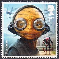 2017   Star Wars (3rd Series) - Maz Kanata 1st Class Stamp SG4007 - 1952-.... (Elizabeth II)