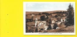 MONTPERREUX Centre Du Village (Karrer) Doubs (25) - Frankreich