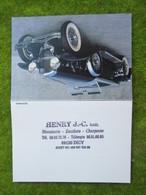 """Calendrier De Poche 1996 """"Ent. De Menuiserie  HENRY J-C Sarl à Dicy (Yonne) - Calendars"""
