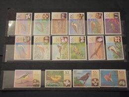 BAHAMAS - 2001 UCCELLI 16 VALORI - NUOVI(++) - Bahamas (1973-...)