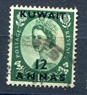 Kuwait: 1956  'Kuwait' OVPT SG118  12annas On 1/3d Used - Kuwait
