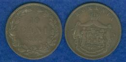 Rumänien 10 Bani 1867 - Romania