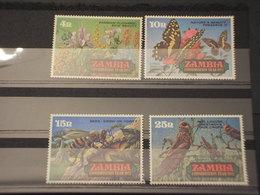 ZAMBIA - 1972 NATURA/INSETTI 4 VALORI - NUOVI(++) - Zambia (1965-...)