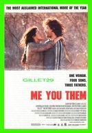 "AFFICHES DE FILM -  "" ME YOU THEM "" BY ANDRUCHA WADDINGTON IN 2000 - - Affiches Sur Carte"