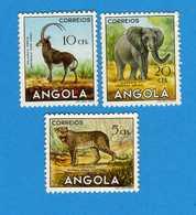 (Us.3) ANGOLA - *1953 - , Yvert  357-358-359 Senza Gomma. Vedi Descrizione - Angola