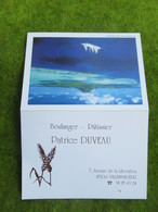"""Calendrier De Poche 1995 Boulanger-Pâtissier """"Patrice DUVEAU""""  à Villemandeur Loiret - Calendars"""