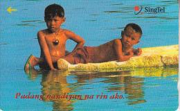 SINGAPORE(GPT) - Children Swimming, CN : 207SIGG99(normal 0), Used - Singapur