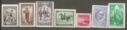 ROU -   Yv. N°  411 à 417  Complet *   Armée Cote 60 Euro  TBE  2 Scans - 1918-1948 Ferdinand, Carol II. & Mihai I.