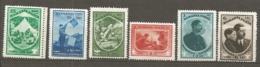 ROU -   Yv. N°  440 à 445  Complet   *  Jamboree  Scoutisme Cote 70 Euro  TBE   2 Scans - 1918-1948 Ferdinand, Carol II. & Mihai I.