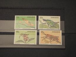 ZIMBABWE - 1988 INSETTI  4 VALORI - NUOVI(++) - Zimbabwe (1980-...)