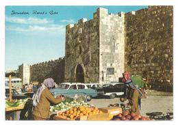 Israele Jerusalem Herod's Gate Non Viaggiata Condizioni Come Da Scansione - Israele