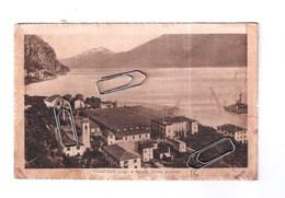 CAMPIONE LAGO DI GARDA VEDUTA GENERALE VIAGGIATA NEL 1918 PER ZONA DI GUERRA - Como